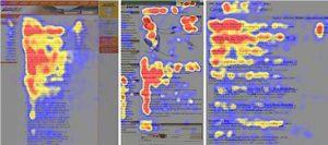 Как считывают люди информацию с экрана устройств
